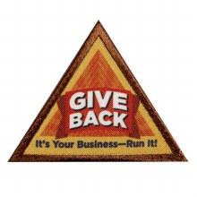 Brownie Give Back Badge