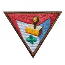 Brownie Letterboxer Badge