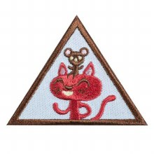 Brownie Making Friends Badge