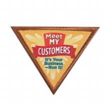 Brownie Meet My Customers Badge