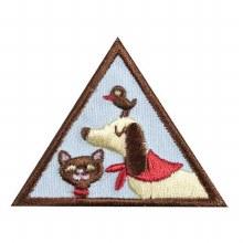 Brownie Pets Badge