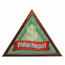 Brownie Philanthropist Badge