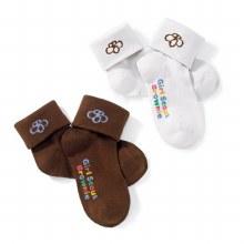 Brownie Small Turn Cuff Sock Pack