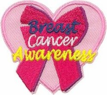 Breast Cancer Awareness Fun Patch