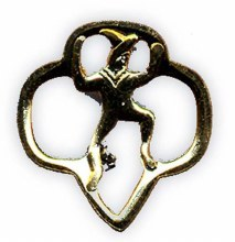 Girl Scout Brownie Membership Pin