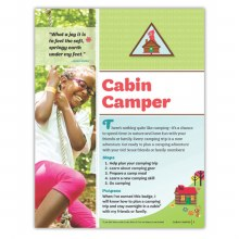 Brownie  Outdoor Cabin Camper Badge Requirements