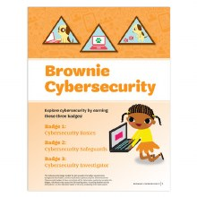 Brownie Cybersecurity Badge Re
