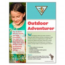 Brownie Outdoor Adventurer Badge Requirements