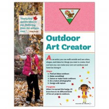Brownie Outdoor Art Creator Badge Requirements