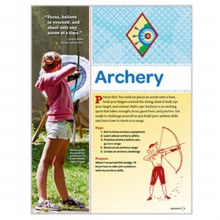 Cadette Archery Badge Requirements