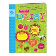 Daisy Flower Garden Journey Book