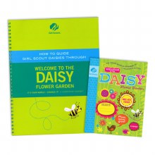 Welcome to the Daisy Flower Garden & Adult Guide Journey Book Set