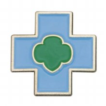 Daisy Safety Award Pin