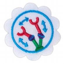 Daisy Design A Robot Badge