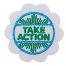 Daisy Take Action Award Badge
