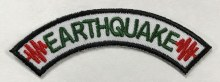 Earthquake Rocker  for Emergency Preparedness Fun Patch