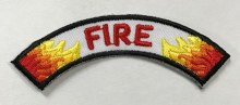 Fire Rocker for Emergency Preparedness Fun Patch