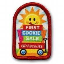 First Cookie Sale Fun Patch