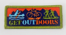 Get Outdoors Fun Patch