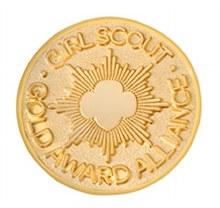 Gold Award Alliance Pin