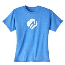 GIRLS LG PROFILE HEATHER BLUE