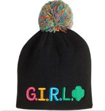 HAT WITH G.I.R.L.