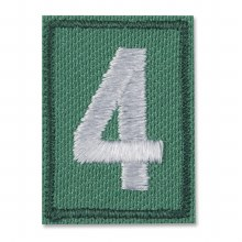 Junior, Cadette, Senior, & Ambassador Troop Numeral Iron On Patch