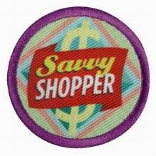 Junior Savvy Shopper Badge