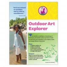 Junior Outdoor Art Explorer Badge Requirements