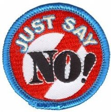 Just Say No Fun Patch