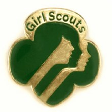 Official Girl Scout Membership Pin