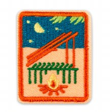 Senior Adventure Camper Badge