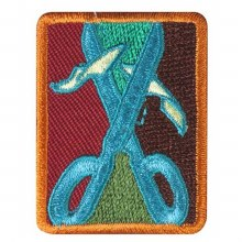 Senior Collage Artist Badge