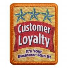 Senior Customer Loyalty Badge