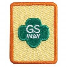 Senior Girl Scout Way Badge