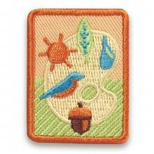 Senior Outdoor Art Expert Badge