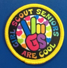 Seniors Are Cool Fun Patch