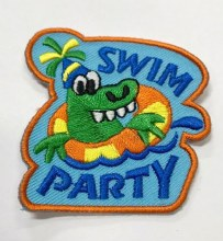 Swim Party Fun Patch