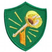 Trumpet Troop Crest