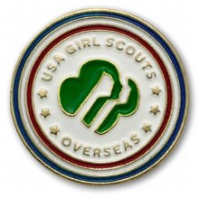 USGS Overseas Pin