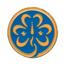 World Trefoil Pin
