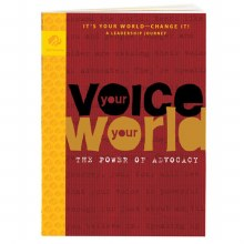 Ambassador Your Voice, Your World: The Power of Advocacy Journey Book