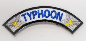 Typhoon Rocker for Emergency Preparedness Fun Patch