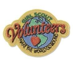 VOLUNTEERS MAKE THE WORLD GO R