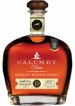Calumet Farm 10yr Single Rack Black Bourbon 750ml