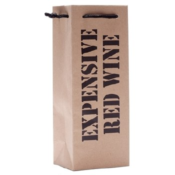 Expensive Red Wine Gift Bag