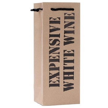 Expensive White Wine Gift Bag