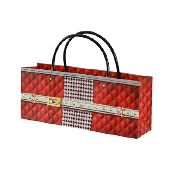 Ruby Diamonds Purse Wine Gift Bag