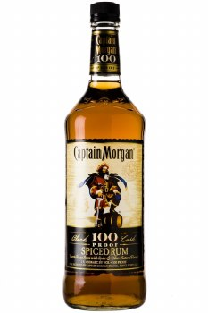 Captain Morgan 100 Proof Spiced Rum 1.75L