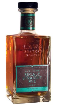 A.D. Laws Secale Small Batch Straight Rye Whiskey 750ml